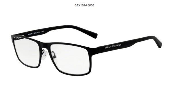 Armani Exchange 0AX1024-6000-black