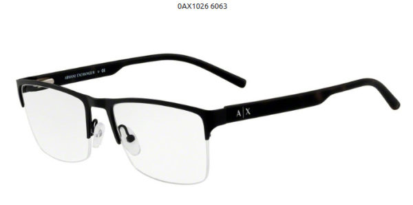 Armani Exchange 0AX1026-6063-black