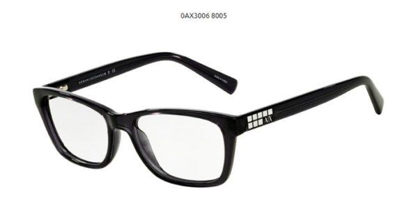 Armani Exchange 0AX3006-8005-black