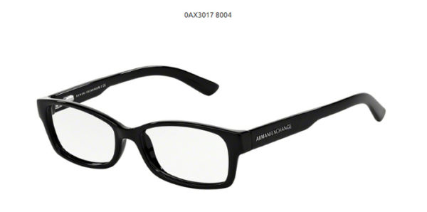 Armani Exchange 0AX3017-8004-black