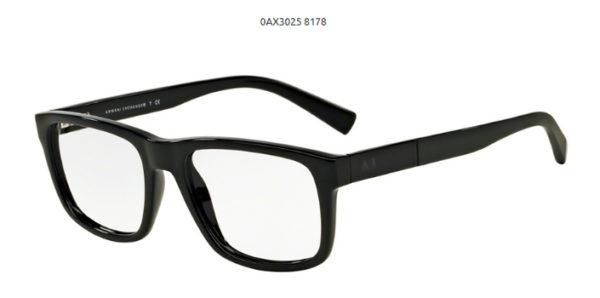 Armani Exchange 0AX3025-8178-black