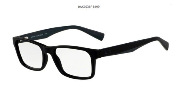 Armani Exchange 0AX3038F-8199-black