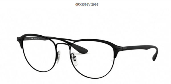 Ray Ban 0RX3596V-2995-black