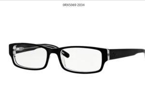 Ray Ban 0RX5069-2034-black