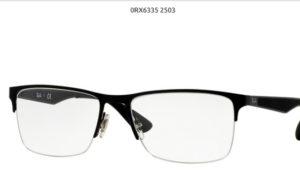 Ray Ban 0RX6335-2503-black