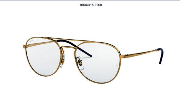 Ray Ban 0RX6414-2500-gold