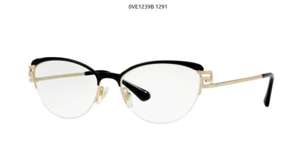Versace 0VE1239B-1291-black-palegold